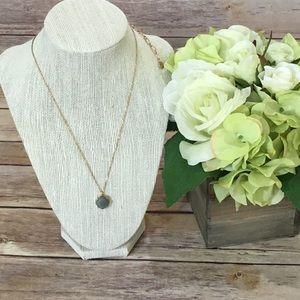 Jewelry - NWT Semi Precious Natural Stone Pendant Necklace
